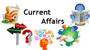 Current Affairs 1